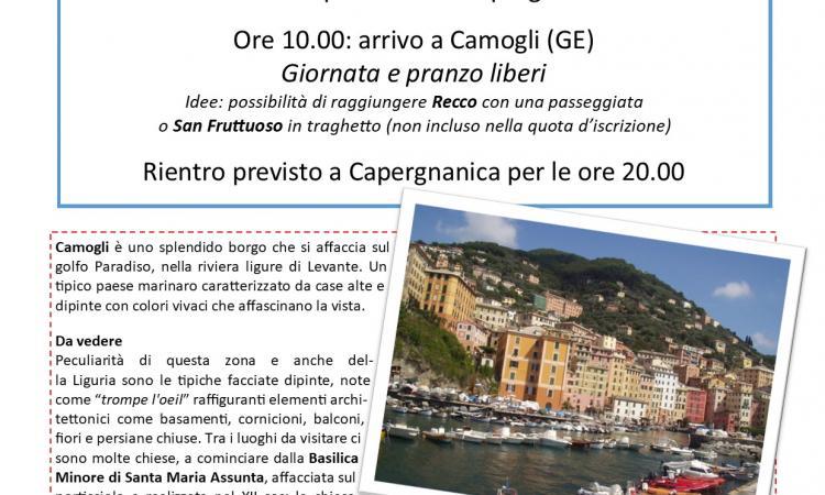 Locandina Gita a Camogli 16-06-2019